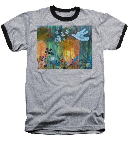Baseball T-Shirt featuring the painting Encantador by Robin Maria Pedrero