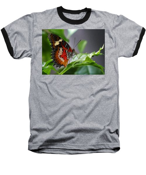 Baseball T-Shirt featuring the photograph Enchanted Butterfly by Bruce Bley