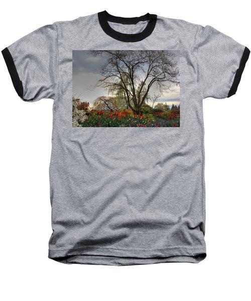 Baseball T-Shirt featuring the photograph Enchanted Garden by Eti Reid