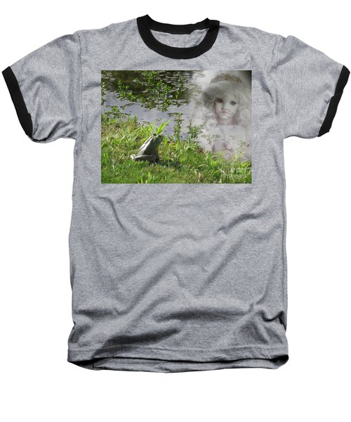 Baseball T-Shirt featuring the photograph Enchanted Prince Fairy Tale by Ella Kaye Dickey