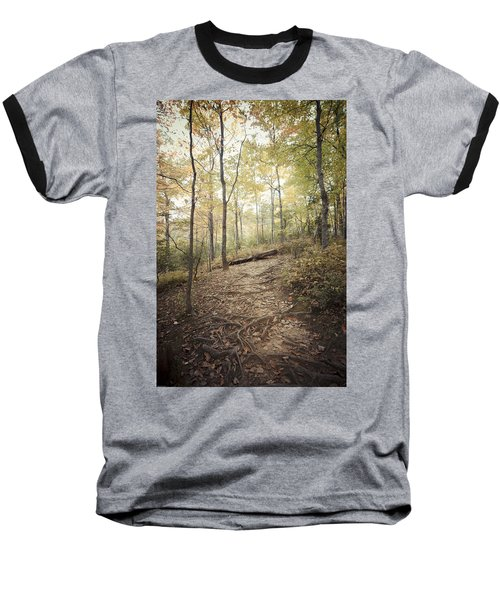 Enchanting Forest Baseball T-Shirt by Debbie Karnes