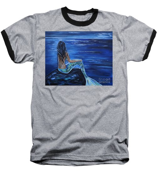 Enchanting Mermaid Baseball T-Shirt
