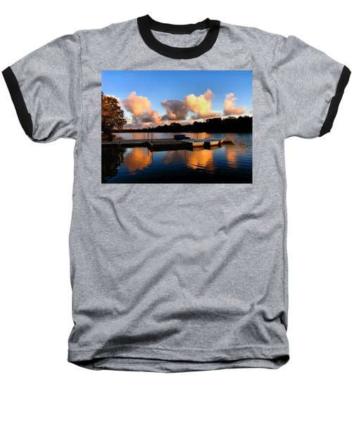 End Of A Summer Day Baseball T-Shirt