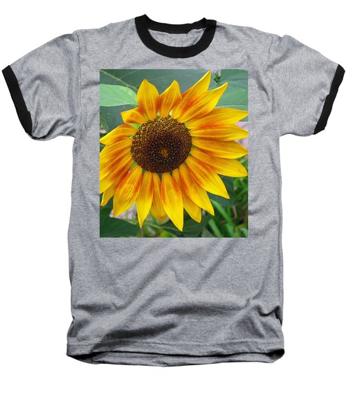 End Of Summer Sunflower Baseball T-Shirt