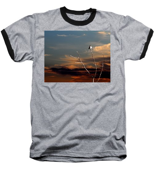 Baseball T-Shirt featuring the photograph End Of The Day by John Freidenberg
