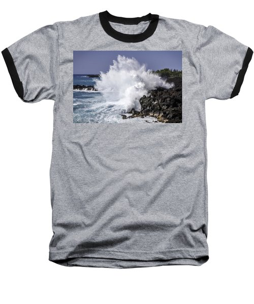 End Of The World Explosion Baseball T-Shirt