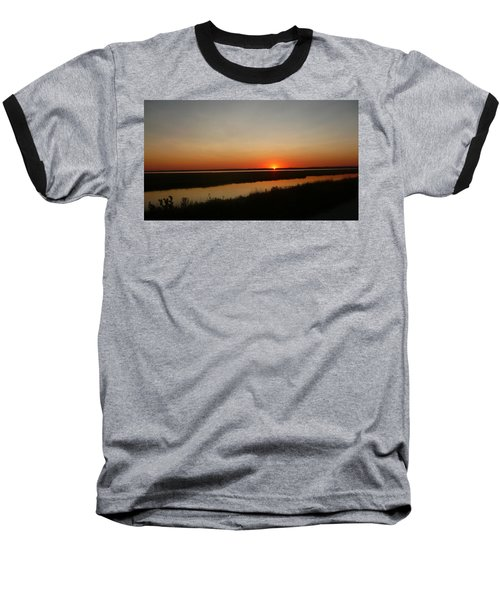 Ending Of A Day Baseball T-Shirt