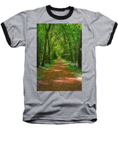 Endless Trail Into The Forest Baseball T-Shirt