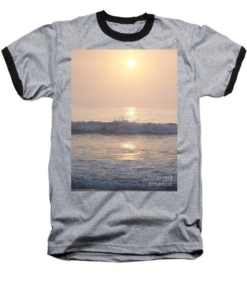 Hampton Beach Wave Ends With A Splash Baseball T-Shirt