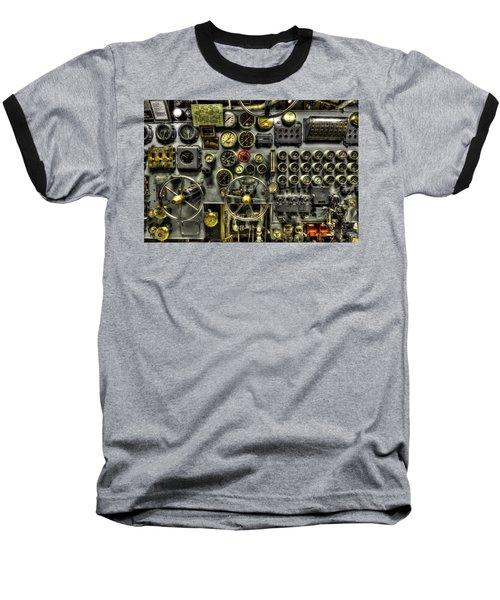 Engine Room Baseball T-Shirt