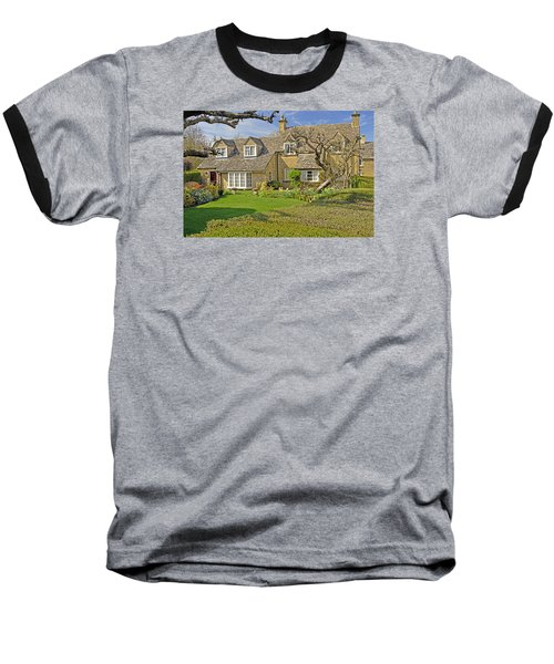 English Cottage Baseball T-Shirt