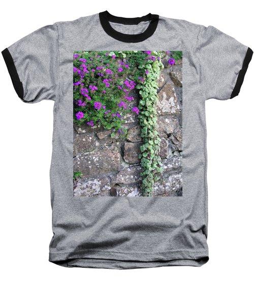 English Garden Wall Baseball T-Shirt