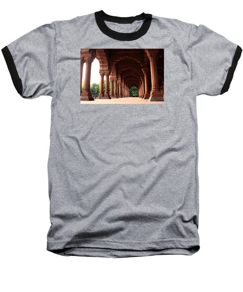 Engrailed Arches Red Fort - New Delhi Baseball T-Shirt