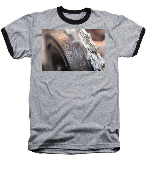 Enigma Rotor Baseball T-Shirt