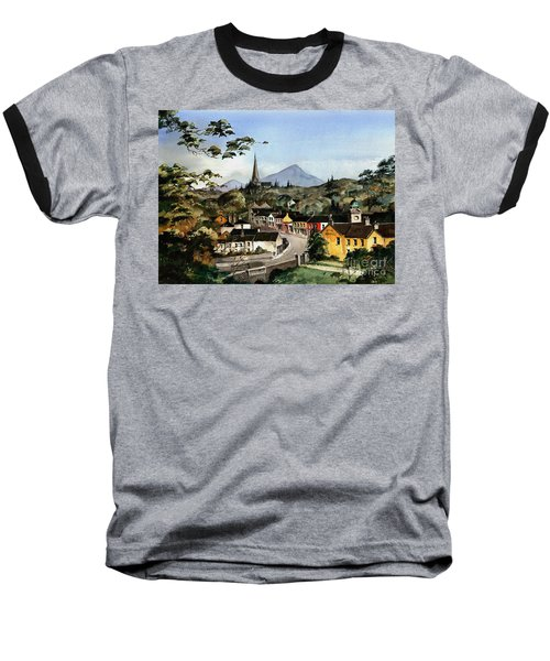 Enniskerry Panorama Wicklow Baseball T-Shirt