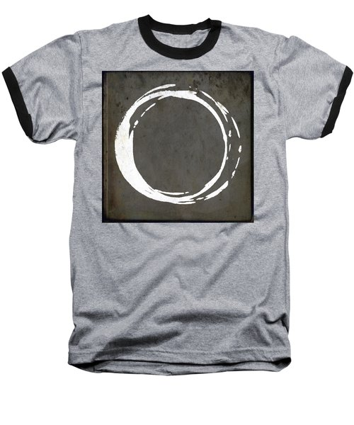 Enso No. 107 Gray Brown Baseball T-Shirt