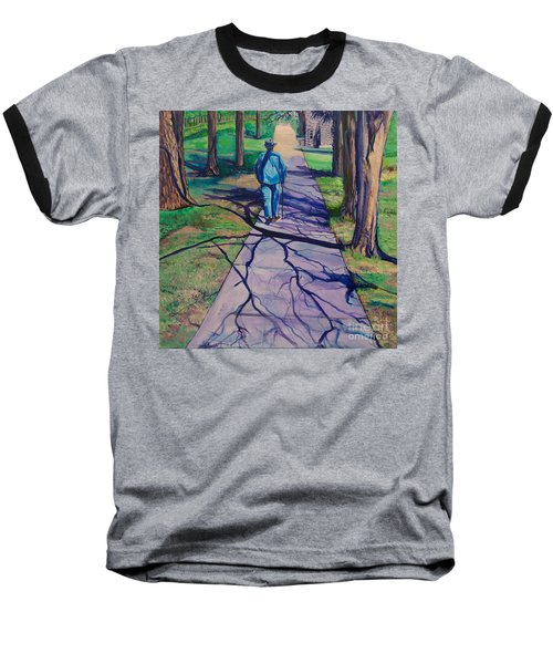 Baseball T-Shirt featuring the painting Entanglement On Highway 98' by Ecinja Art Works