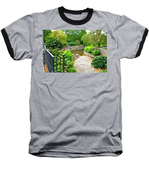 Enter The Garden Baseball T-Shirt by Charlie and Norma Brock
