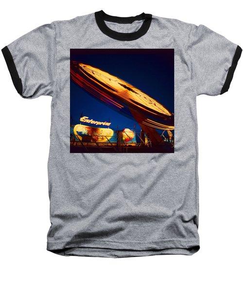 Enterprise Baseball T-Shirt by Don Spenner