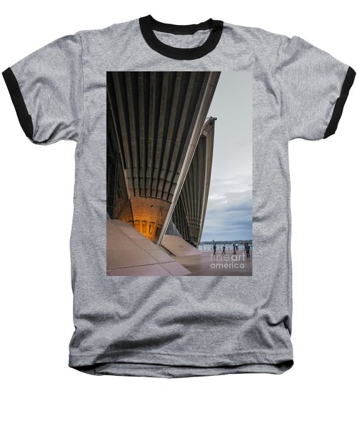 Entrance To Opera House In Sydney Baseball T-Shirt by Jola Martysz