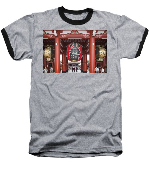 Entrance To Senso-ji Temple Baseball T-Shirt