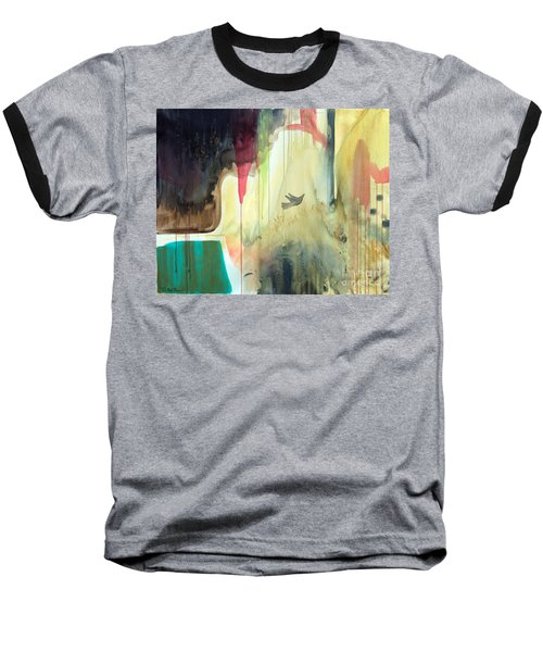 Baseball T-Shirt featuring the painting Envisage by Robin Maria Pedrero