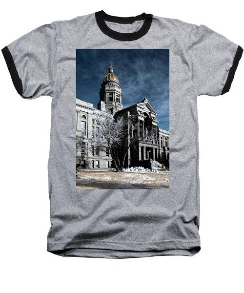 Equality State Dome Baseball T-Shirt by Greg Collins