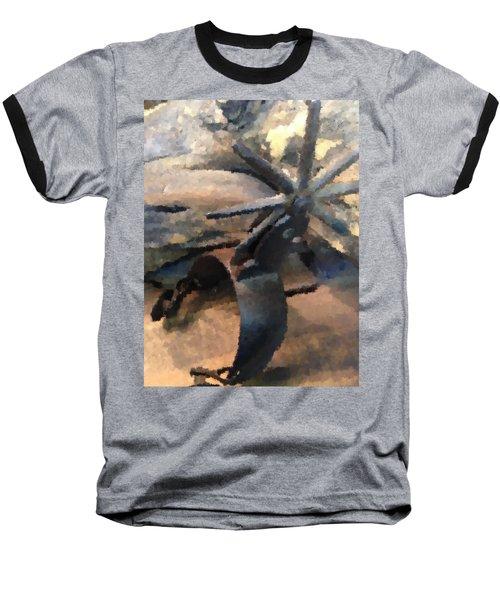 Equestrian Discipline Baseball T-Shirt by Julio Lopez