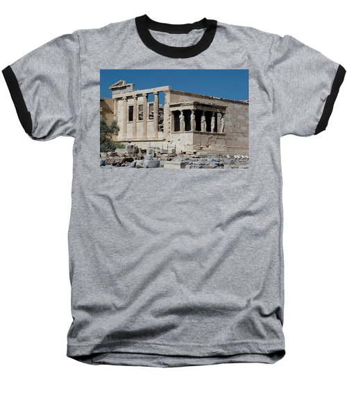 Erechtheion With The Porch Of Maidens Baseball T-Shirt