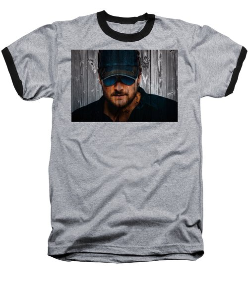 Eric Church Baseball T-Shirt by Dan Sproul