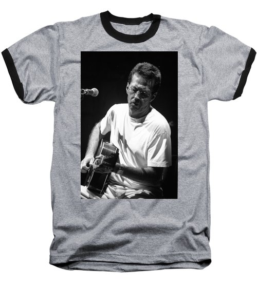 Eric Clapton 003 Baseball T-Shirt by Timothy Bischoff