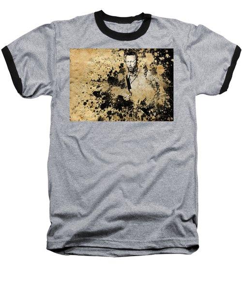 Eric Clapton 3 Baseball T-Shirt by Bekim Art