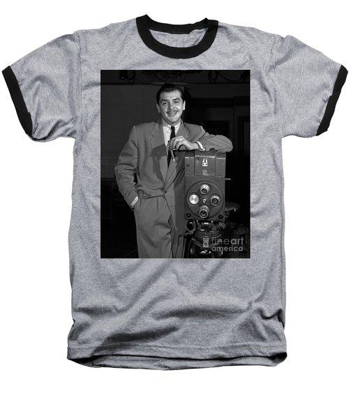 Ernie Kovacs 1957 Baseball T-Shirt