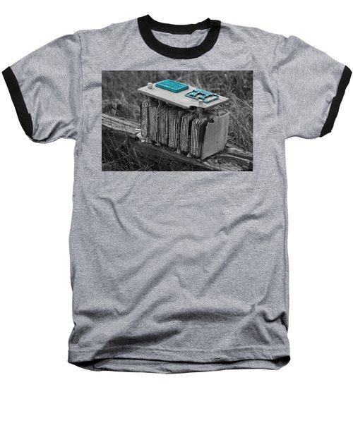 Eroding Battery Baseball T-Shirt