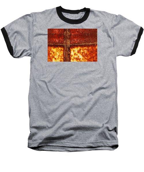 Erosion Baseball T-Shirt by Wendy Wilton