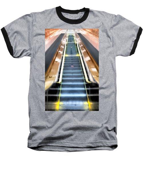 Escalator To Heaven Baseball T-Shirt