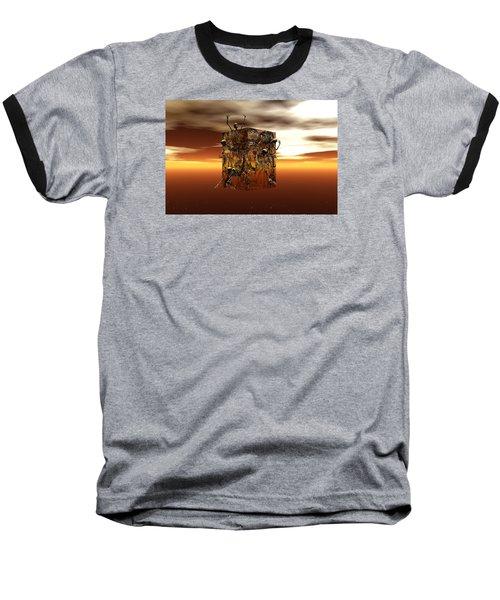 Baseball T-Shirt featuring the digital art Escape Attempt by Claude McCoy