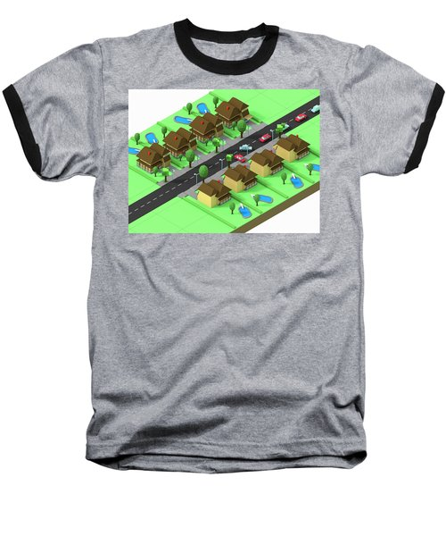 Escape Suburbia Baseball T-Shirt