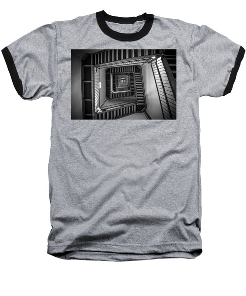 Escher Baseball T-Shirt