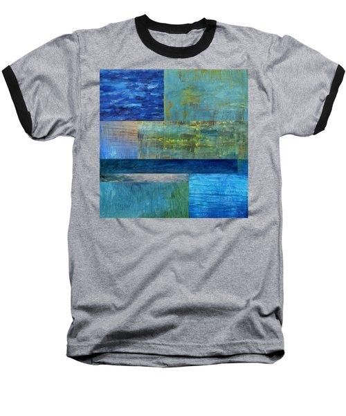 Essence Of Blue 2.0 Baseball T-Shirt