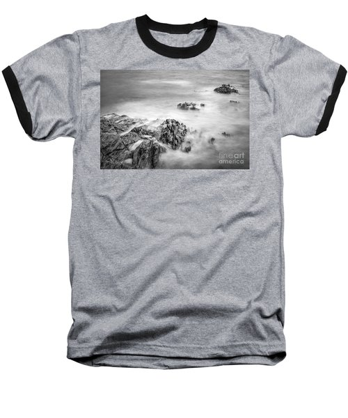 Baseball T-Shirt featuring the photograph Estacas Beach Galicia Spain by Pablo Avanzini