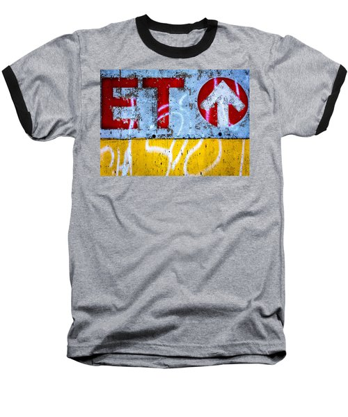 ET  Baseball T-Shirt by Bob Orsillo