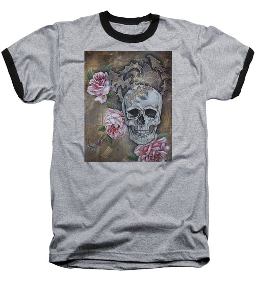 Baseball T-Shirt featuring the painting Eternal by Sheri Howe