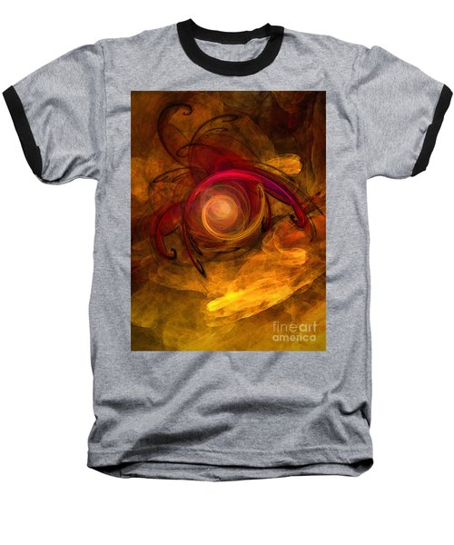 Eternity Of Being-abstract Expressionism Baseball T-Shirt