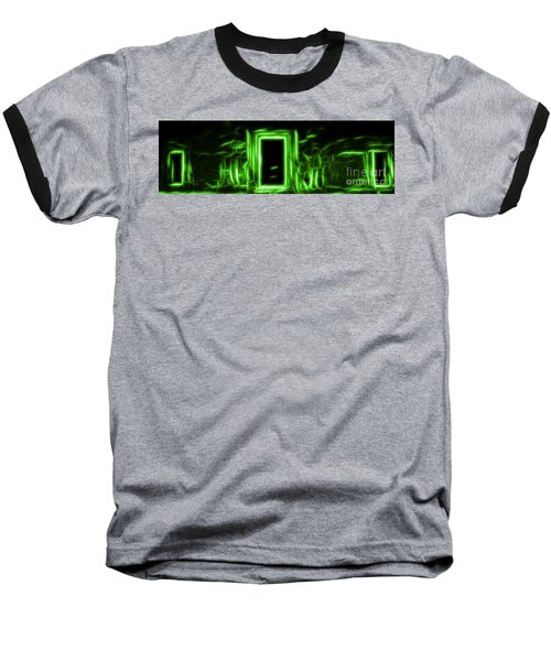 Ethereal Doorways Green Baseball T-Shirt
