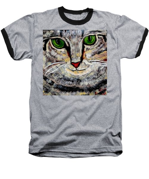 Ethical Kitty See's Your Dilemma Baseball T-Shirt