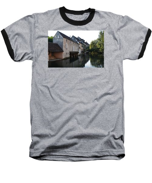 Eure River And Old Fulling Mills In Chartres Baseball T-Shirt