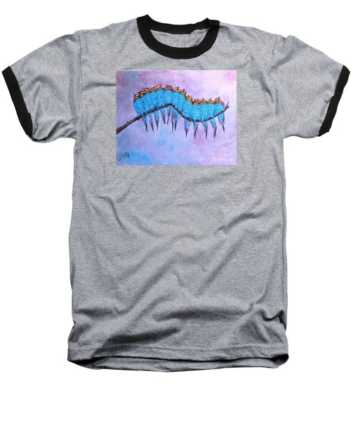 Baseball T-Shirt featuring the painting European Bee Eaters by Donna Dixon