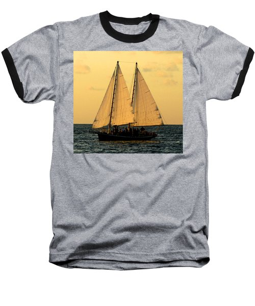 More Sails In Key West Baseball T-Shirt
