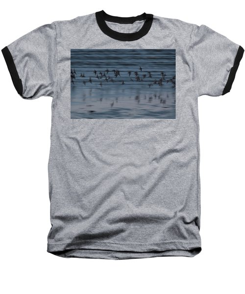 Baseball T-Shirt featuring the photograph Evening Abstract by Alex Lapidus